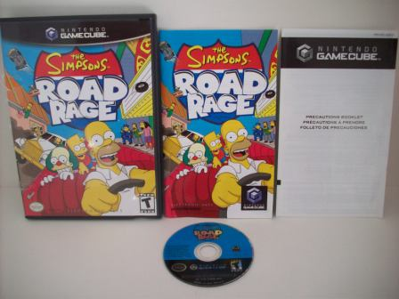 Simpsons, The: Road Rage - Gamecube Game
